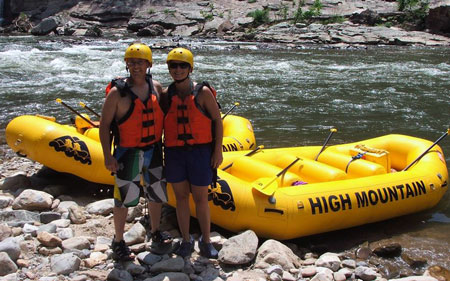 White Water Rafting NC - High Mountain Expeditions