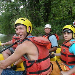 White Water Rafting in North Carolina - River Smile