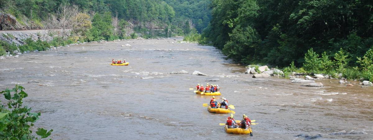 2 Day Nolichukcy Rafting North Carolina